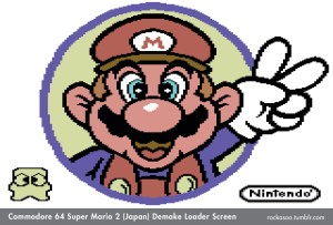 CBM64 Super Mario 2 Loader Screen